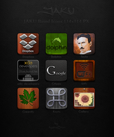 JAKU Based Icons 114x114 PX by Agamemmnon