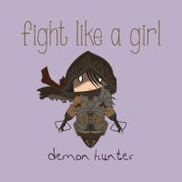 Demon Hunter - Fight Like A Girl by isasaldanha