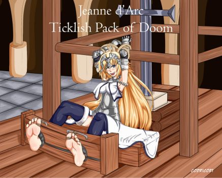 Joan d'Arc Ticklish pack of Doom by codricor1