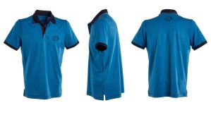 Blue polo shirt Manase brand by Denis-Manase
