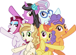 Singing in Canterlot by IronM17