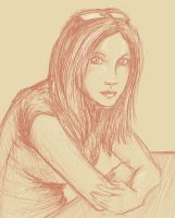 Sketch of a Girl by jdstone