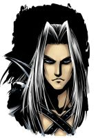 Sephiroth by Saehral