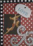 Diving Into Love ACEO by Dreamerzina