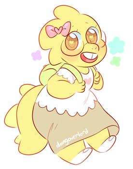 child alphys by dongoverlord
