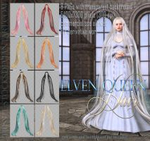 Elven Queen HAIR by Trisste-stocks