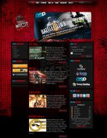 iNFECTED TEAM WEBSITE by drac3