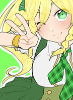 School Girl Leafa by HatoriKumiko
