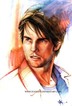 Tom Cruise by iVANTAO