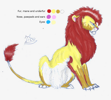 Tico's Ref Sheet by TigaLioness