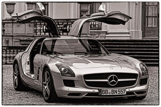 MERCEDES BENZ SLS AMG by DuschanTomic