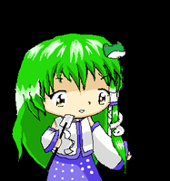 PC-98 Sanae? by OniiChanMiku