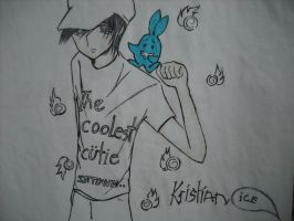 kristian and ice by iloveanimesuper