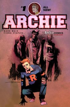 Afterlife with Archie sketch cover by mytymark