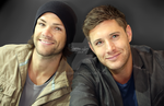 Jared and Jensen ~ Portrait by SauceBox16