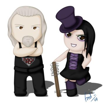 Nash and Daffney by Peccadillos