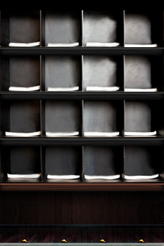 Display shelves for Clothes by motioncg