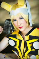Pika PikaThor by Cosmic-Empress