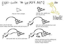 ESDA's Guide to Weasel Art by FablePaint