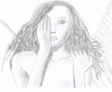 Angel's are real 2 .drawing. by SmithArt