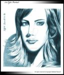 Liv Tyler portrait by marveen86