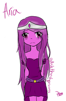 Tablet RQ: Aria the Shy Princess by Ask-ErikandOthers