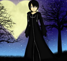 Kingdom Hearts- Xion by kyoshiwarrior14