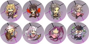 noblesse buttons by hasuyawn