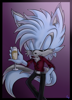 'Have another drink, ladies...' by Radiancie