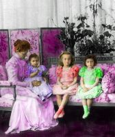 Empress Alix and daughters by Sonja-from-Finland