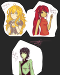 RWBY Palette Meme by Ghost-Occult