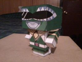 Green Ranger, Good CubeeCraft by SuperVegeta71290
