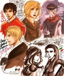 Hetalia- past and present by stirringwind