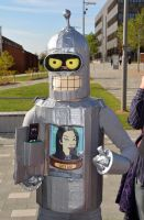 Stoke-Con-Trent 2014 (36) Bender from Futurama by masimage