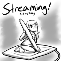 Art Stream! by HellLemur
