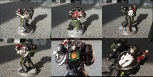 Deathwatch Space Marine Conversion 4 (Salamanders) by Waaaghzag