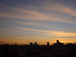 A Black Dot In The Sky by Falcoliveira