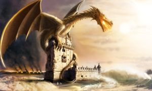 Belem-and-the-Dragon by Erebus-art
