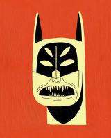 Nightmare Batman by Teagle