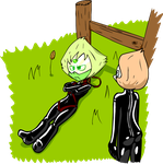Rubber Gems: Peridot Tied Up by Shennanigma