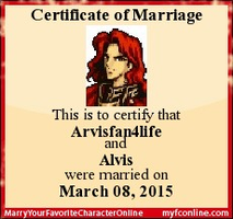 I Married Alvis and I Will Stay Loyal To Him! by Rose3212