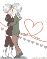 APH - Land love by DinoTurtle