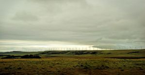 Crossing Country Wind Farm by myrnajacobs