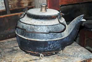 Dusty kettle by LucieG-Stock