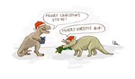 Dino-Christmas by YaYaOo