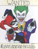 Joker and Harley by HauntedHouse667