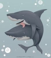 Randy Shark by MikeCoombsArt