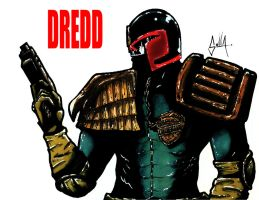 Judge Dredd by Solla-Damian