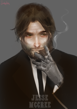 More mccree by scathy-kitty