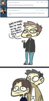 Ask Team Freewill Comic - It's The Hair by Wibsies